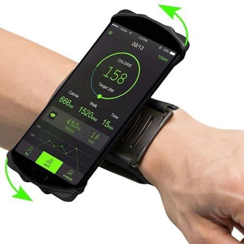 Brassard Poigné Universel De Téléphone Smartphone Pour Activités Sportives
